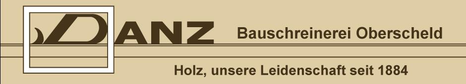 DANZ Bauschreinerei
